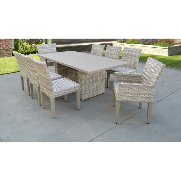 Waterbury 9 Piece Dining Set by Sol 72 Outdoor Sol 72 Outdoor