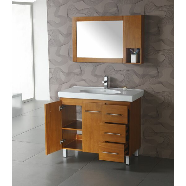 5 W x 24 H Wall Mounted Cabinet by Legion Furniture