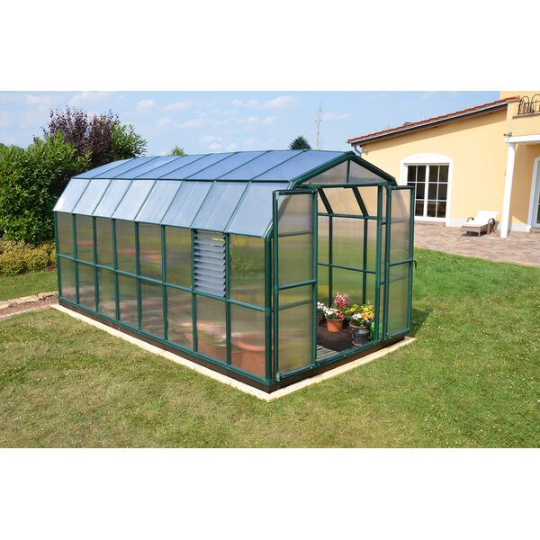 Prestige 2 Twin Wall 8 Ft. W x 16 Ft. D Greenhouse by Rion Greenhouses