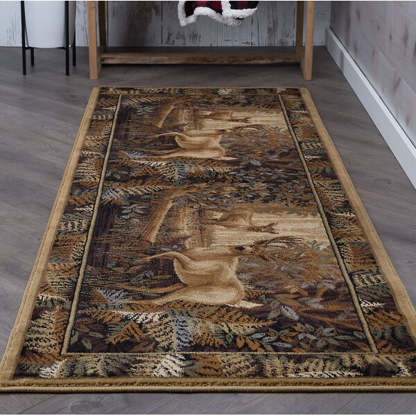 Altamont Beige/Brown Area Rug by Threadbind