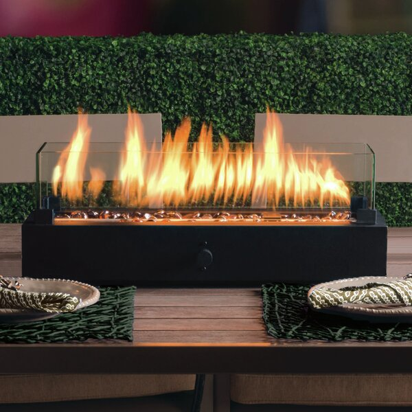 Lara Steel Propane Tabletop Fireplace by Bond Manufacturing