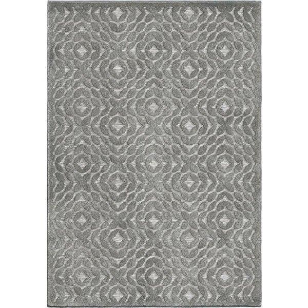 Milner Stone Gray Indoor/Outdoor Area Rug by Ophelia & Co.