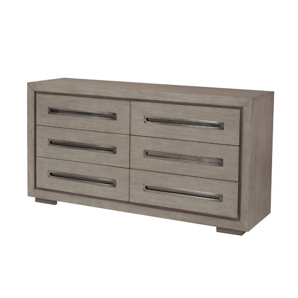 Laura 6 Drawer Double Dresser by 17 Stories
