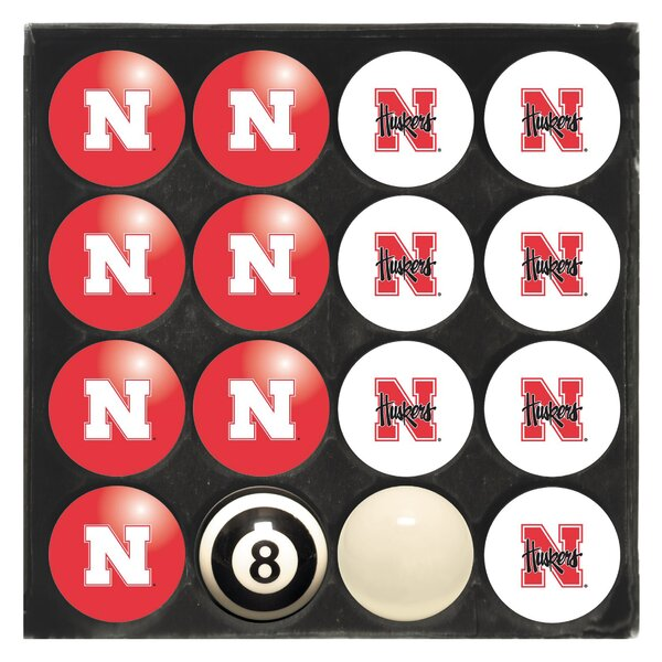 NCAA Home Vs. Away Billiard Ball Set by Imperial International
