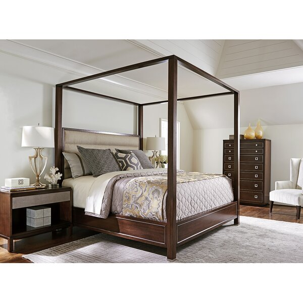MacArthur Park Terranea Upholstered Canopy Bed by Lexington
