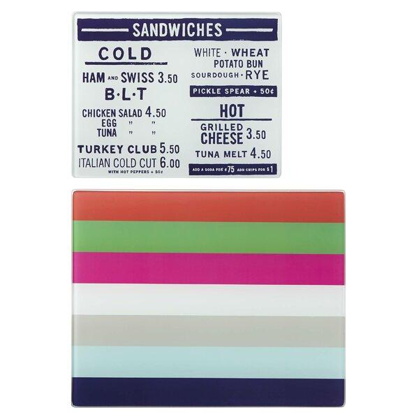 All in Good Taste Stripe Prep Board Set by kate spade new york