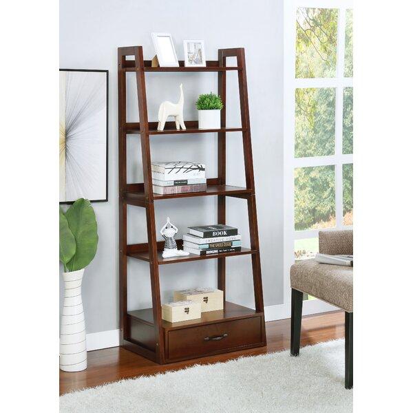 Frey 5 Shelf Ladder Bookcase by Highland Dunes