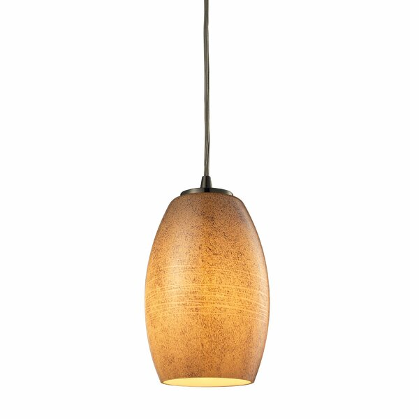 Hertford 1-Light Cone Pendant by Bay Isle Home