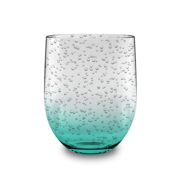 Bubble 16 oz. Plastic Everyday Glasses (Set of 6) by Birch Lane™