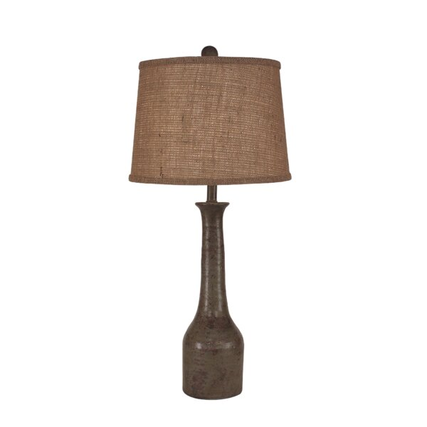 Westhampton Slender Neck Textured Pottery 30 Table Lamp by Bay Isle Home