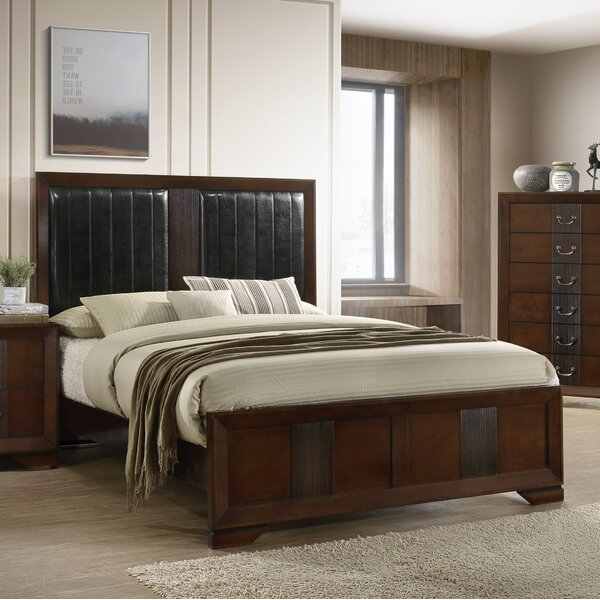 Foote Upholstered Standard Bed by Winston Porter