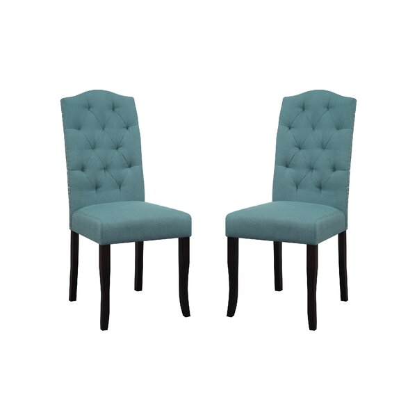 Review Murray Upholstered Dining Chair (Set Of 2)