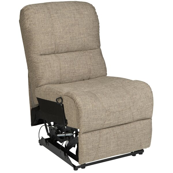Review Turkan Armless Recliner Home Theater Sectional