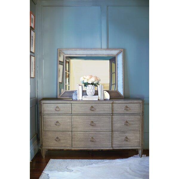 Marquesa 9 Drawer Dresser With Mirror by Bernhardt