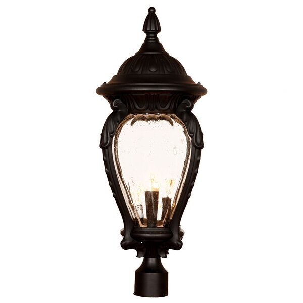 Pursell Outdoor 4-Light Lantern Head by Charlton Home