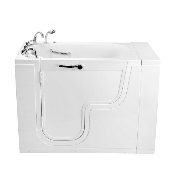 Transfer26 Wheelchair Accessible Acrylic 26 x 26 Walk-In Bathtub by Ella Walk In Baths