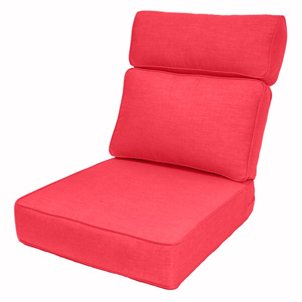 Outdoor Sunbrella Lounge Chair Cushion