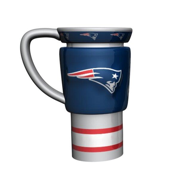 NFL 16 oz. Sculpted Travel Mug by Boelter Brands