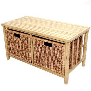 Annapolis Wood Storage Bench