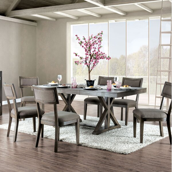 Clegg Extendable 7 Piece Dining Set by Gracie Oaks