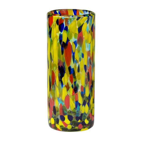 Hermanson Drinking 16 oz. Glass Highball Glass (Set of 6) by Latitude Run