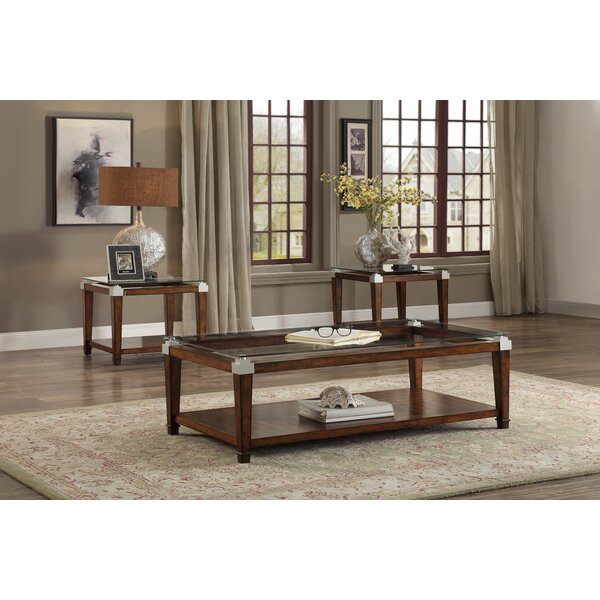 Lindy 3 Piece Coffee Table Set by Darby Home Co Darby Home Co