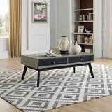 Edwina Coffee Table with Drawer by Ivy Bronx
