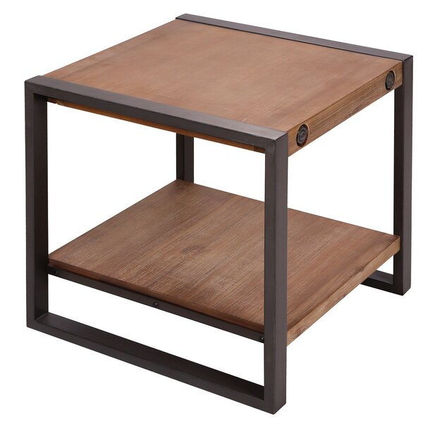 Yosemite End Table by 17 Stories