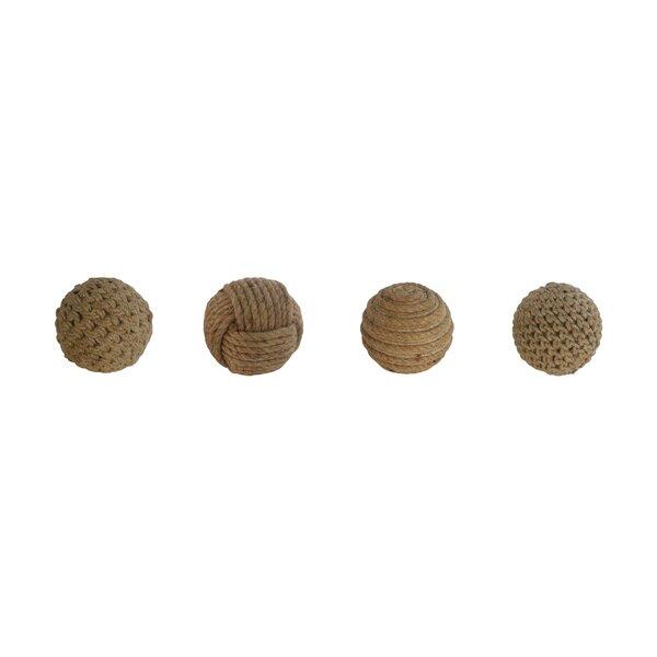 Tyringham Rope Balls 4 Piece Vase Filler Set (Set of 4) by Union Rustic