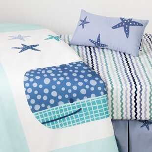 Best Reviews DreamIt Doudou the Whale 4-Piece Baby Crib Bed Set BySouth Shore