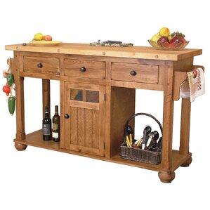 Kitchen Island 60 X 40 rustic kitchen islands & carts - kitchen & dining furniture | wayfair