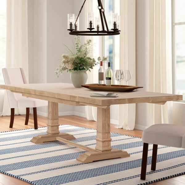 Derwent Leaf Extendable Dining Table by Three Posts Three Posts