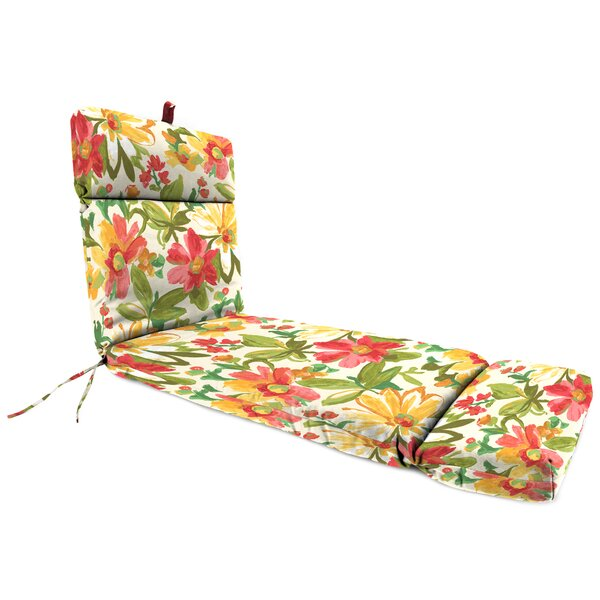 Universal Indoor/Outdoor Chaise Lounge Cushion by Jordan Manufacturing