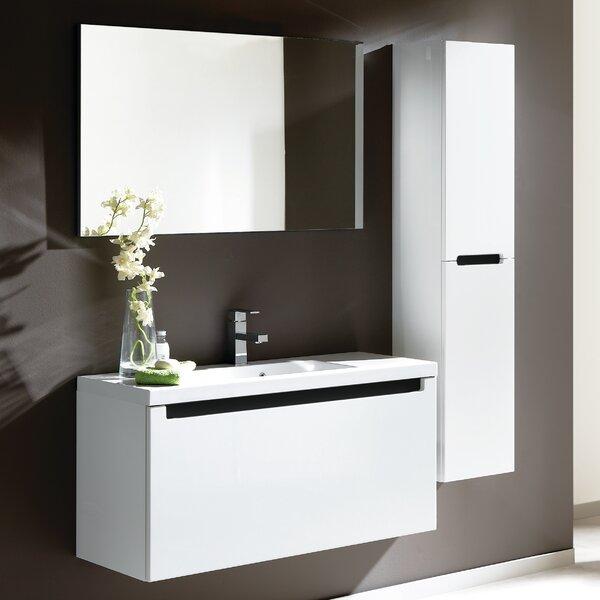 Serenity 41 Bathroom Vanity Set with Mirror by Adornus