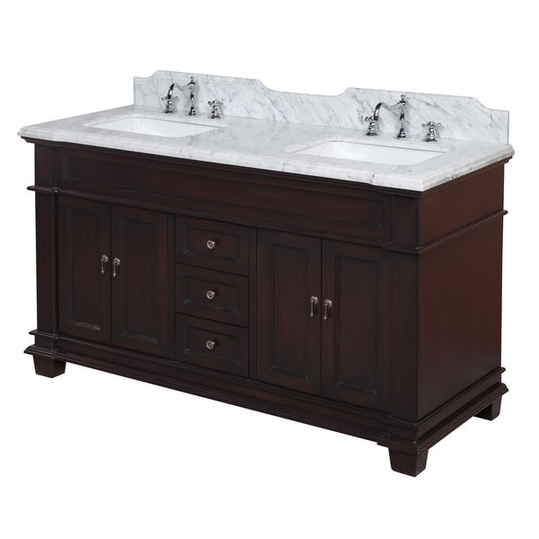 Elizabeth 60 Double Bathroom Vanity Set by Kitchen Bath Collection