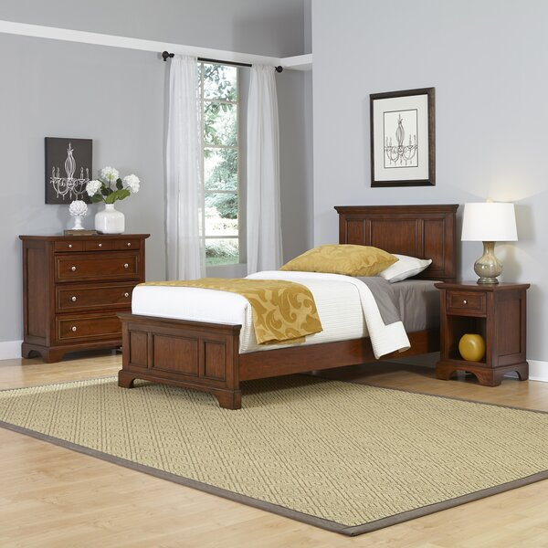 Chesapeake Panel 3 Piece Bedroom Set by Home Styles