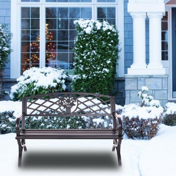 Aneira Decent Garden Bench by Fleur De Lis Living