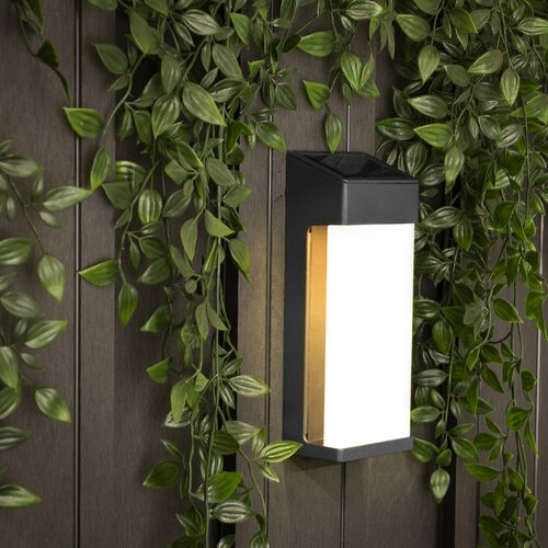 LED Solar Outdoor Flush Mount with Motion Sensor Smartwares