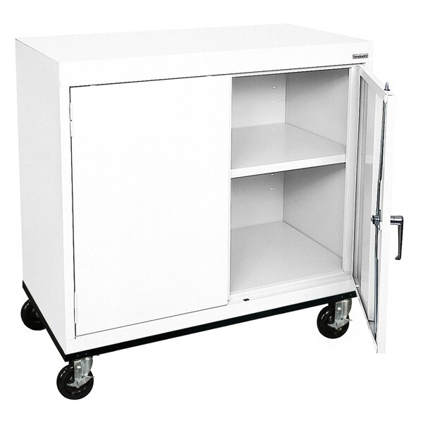 Transport 2 Door Storage Cabinet by Sandusky Cabinets