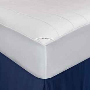 Posturepedic Washable Memory Foam Fitted Waterproof Mattress Protector By Sealy