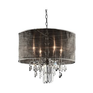 Ruggero 4 Light Drum Chandelier