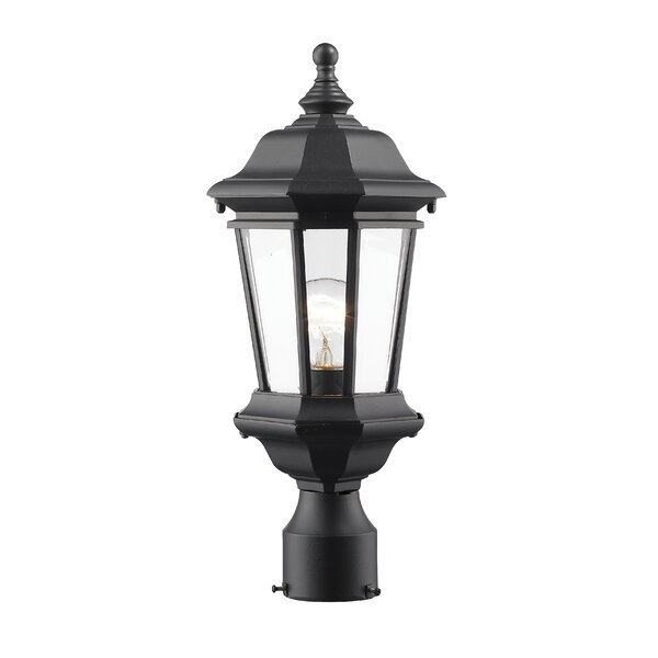 Bibb 1-Light Lantern Head by Fleur De Lis Living