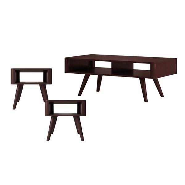 Mabon 3 Piece Coffee Table Set By Ebern Designs