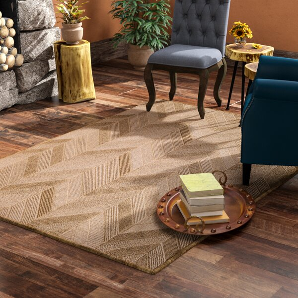 Norah Beige Indoor/Outdoor Area Rug by Langley Street