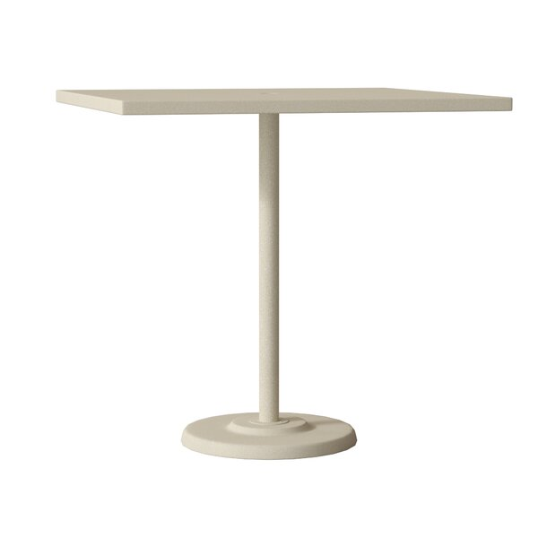 Ion Aluminum Bar Table by Tropitone