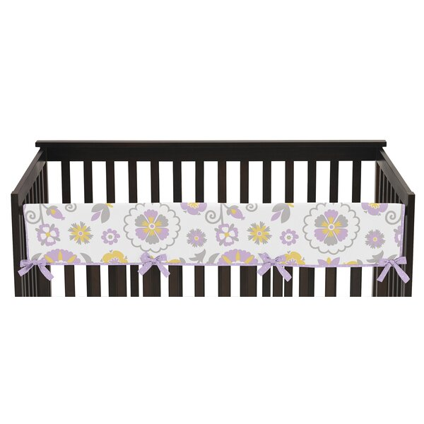 Suzanna Long Crib Rail Guard Cover by Sweet Jojo Designs