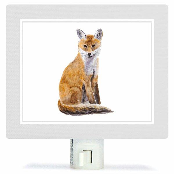 Animal Kingdom - Fox by Brett Blumenthal Canvas Night Light by Oopsy Daisy