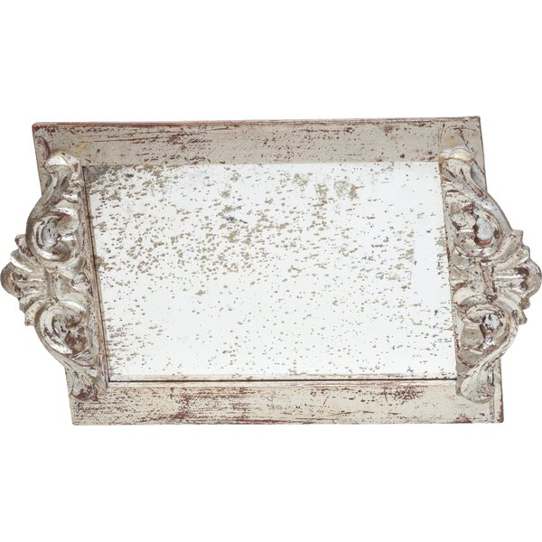 Vanity Tray with Faux Antique Mirror Surface by Abigails