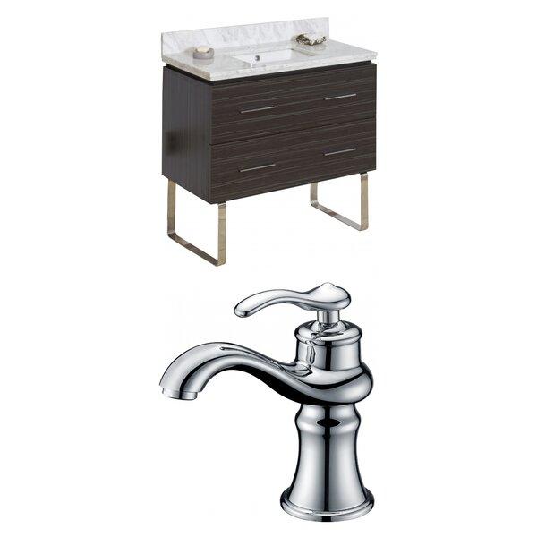 Kyra Modern 36 Wood Single Bathroom Vanity Set by Orren Ellis