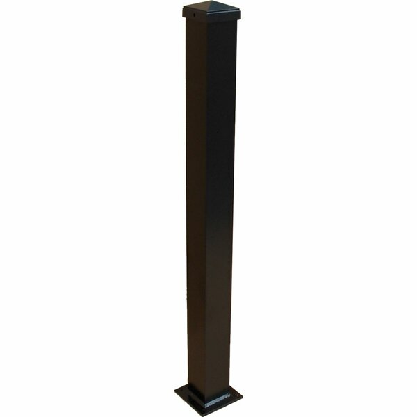 Aluminum Post with Welded Base by ModVue